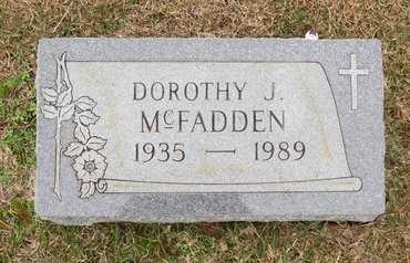 MCFADDEN, DOROTHY J. - Hempstead County, Arkansas   DOROTHY J. MCFADDEN - Arkansas Gravestone Photos