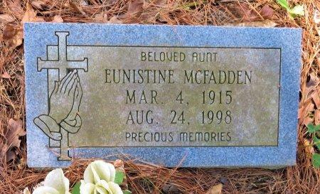 MCFADDEN, EUNISTINE - Hempstead County, Arkansas | EUNISTINE MCFADDEN - Arkansas Gravestone Photos
