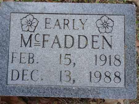 MCFADDEN, EARLY - Hempstead County, Arkansas   EARLY MCFADDEN - Arkansas Gravestone Photos