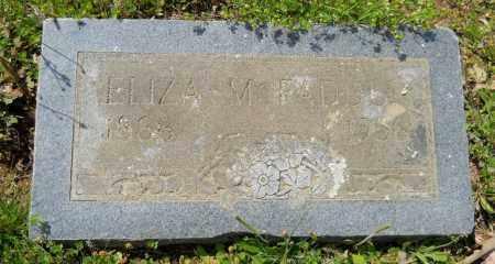 MCFADDEN, ELIZA - Hempstead County, Arkansas | ELIZA MCFADDEN - Arkansas Gravestone Photos