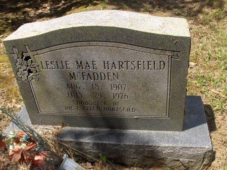 MCFADDEN, LESLIE MAE - Hempstead County, Arkansas   LESLIE MAE MCFADDEN - Arkansas Gravestone Photos