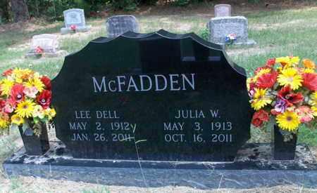 MCFADDEN, LEE DELL - Hempstead County, Arkansas | LEE DELL MCFADDEN - Arkansas Gravestone Photos