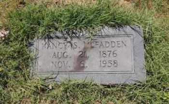 MCFADDEN, NANCY S - Hempstead County, Arkansas | NANCY S MCFADDEN - Arkansas Gravestone Photos