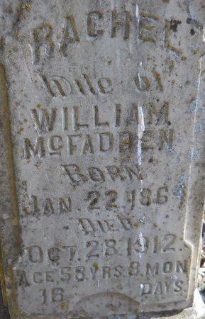 MCFADDEN, RACHEL (CLOSE UP) - Hempstead County, Arkansas | RACHEL (CLOSE UP) MCFADDEN - Arkansas Gravestone Photos