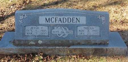 MCFADDEN, JESSIE C. - Hempstead County, Arkansas | JESSIE C. MCFADDEN - Arkansas Gravestone Photos
