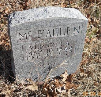 MCFADDEN, VERNELLA - Hempstead County, Arkansas | VERNELLA MCFADDEN - Arkansas Gravestone Photos