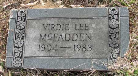 MCFADDEN, VIRDIE LEE - Hempstead County, Arkansas | VIRDIE LEE MCFADDEN - Arkansas Gravestone Photos