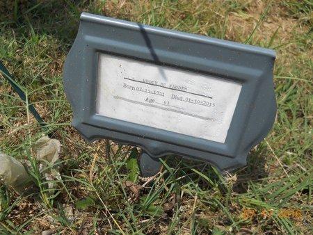 MCFADDEN, WOODY - Hempstead County, Arkansas   WOODY MCFADDEN - Arkansas Gravestone Photos