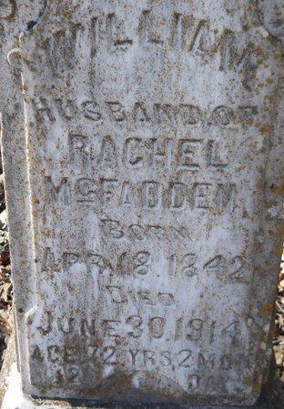 MCFADDEN, WILLIAM (CLOSE UP) - Hempstead County, Arkansas | WILLIAM (CLOSE UP) MCFADDEN - Arkansas Gravestone Photos