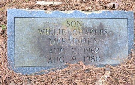 MCFADDEN, WILLIE CHARLES - Hempstead County, Arkansas | WILLIE CHARLES MCFADDEN - Arkansas Gravestone Photos