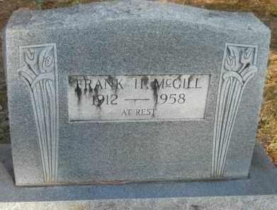 MCGILL, FRANK H - Hempstead County, Arkansas | FRANK H MCGILL - Arkansas Gravestone Photos