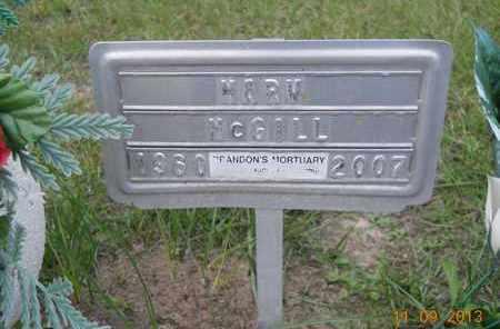MCGILL, MARV - Hempstead County, Arkansas | MARV MCGILL - Arkansas Gravestone Photos
