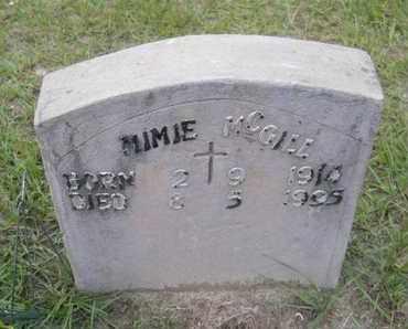 MCGILL, MIMIE - Hempstead County, Arkansas   MIMIE MCGILL - Arkansas Gravestone Photos