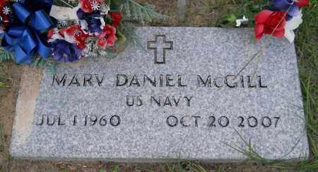 MCGILL (VETERAN), MARV DANIEL - Hempstead County, Arkansas | MARV DANIEL MCGILL (VETERAN) - Arkansas Gravestone Photos