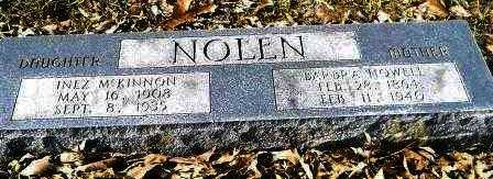 HOWELL NOLEN, BARBRA - Hempstead County, Arkansas | BARBRA HOWELL NOLEN - Arkansas Gravestone Photos