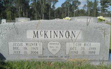 MCKINNON, COY RICE - Hempstead County, Arkansas   COY RICE MCKINNON - Arkansas Gravestone Photos
