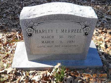 MERRELL, HARLEY E - Hempstead County, Arkansas   HARLEY E MERRELL - Arkansas Gravestone Photos