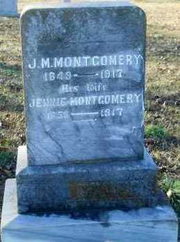 MONTGOMERY, JENNIE - Hempstead County, Arkansas   JENNIE MONTGOMERY - Arkansas Gravestone Photos