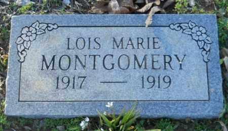 MONTGOMERY, LOIS MARIE - Hempstead County, Arkansas   LOIS MARIE MONTGOMERY - Arkansas Gravestone Photos
