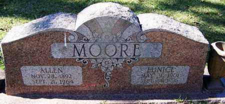 MOORE, ALLEN - Hempstead County, Arkansas | ALLEN MOORE - Arkansas Gravestone Photos