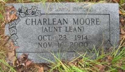 "MOORE, CHARLEAN ""AUNT LEAN"" - Hempstead County, Arkansas | CHARLEAN ""AUNT LEAN"" MOORE - Arkansas Gravestone Photos"
