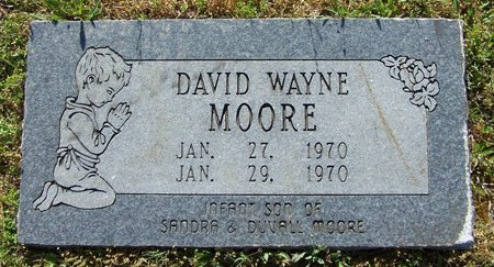 MOORE, DAVID WAYNE - Hempstead County, Arkansas   DAVID WAYNE MOORE - Arkansas Gravestone Photos