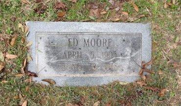 MOORE, ED - Hempstead County, Arkansas   ED MOORE - Arkansas Gravestone Photos