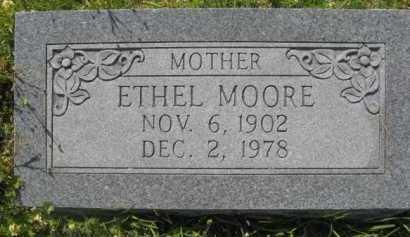 MOORE, ETHEL - Hempstead County, Arkansas | ETHEL MOORE - Arkansas Gravestone Photos