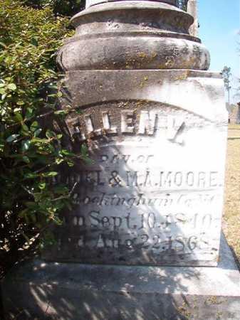MOORE, ELLEN V (CLOSE UP) - Hempstead County, Arkansas | ELLEN V (CLOSE UP) MOORE - Arkansas Gravestone Photos
