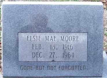 MOORE, ELSIE MAE - Hempstead County, Arkansas   ELSIE MAE MOORE - Arkansas Gravestone Photos