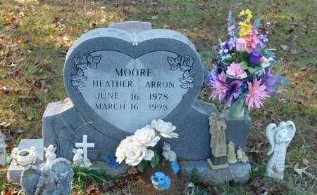 MOORE, HEATHER ARRON - Hempstead County, Arkansas | HEATHER ARRON MOORE - Arkansas Gravestone Photos
