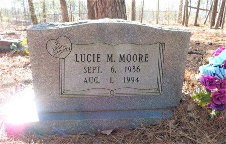 MOORE, LUCIE M. - Hempstead County, Arkansas   LUCIE M. MOORE - Arkansas Gravestone Photos