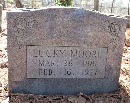 MOORE, LUCKY - Hempstead County, Arkansas   LUCKY MOORE - Arkansas Gravestone Photos