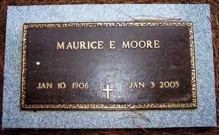 MOORE, MAURICE E - Hempstead County, Arkansas | MAURICE E MOORE - Arkansas Gravestone Photos