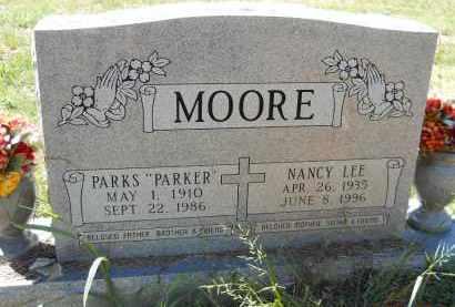 "MOORE, PARKS ""PARKER"" - Hempstead County, Arkansas | PARKS ""PARKER"" MOORE - Arkansas Gravestone Photos"