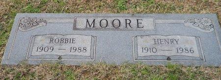 MOORE, ROBBIE - Hempstead County, Arkansas   ROBBIE MOORE - Arkansas Gravestone Photos