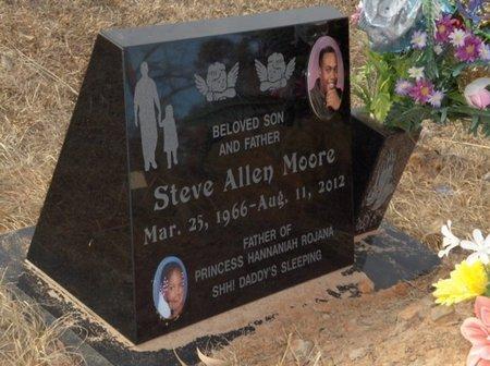MOORE, STEVE ALLEN - Hempstead County, Arkansas | STEVE ALLEN MOORE - Arkansas Gravestone Photos
