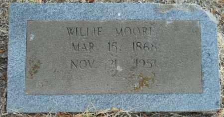 MOORE, WILLIE - Hempstead County, Arkansas   WILLIE MOORE - Arkansas Gravestone Photos