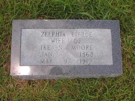MOORE, ZELPHIA - Hempstead County, Arkansas | ZELPHIA MOORE - Arkansas Gravestone Photos