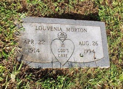 MORTON, LOUVENIA - Hempstead County, Arkansas | LOUVENIA MORTON - Arkansas Gravestone Photos