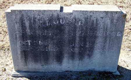 MOUSER, A. S. - Hempstead County, Arkansas   A. S. MOUSER - Arkansas Gravestone Photos