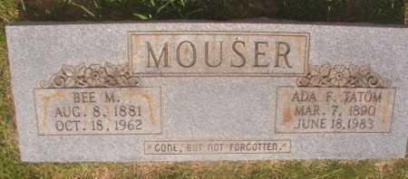 MOUSER, BEE M - Hempstead County, Arkansas | BEE M MOUSER - Arkansas Gravestone Photos