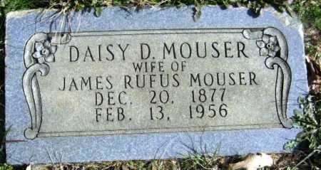 MOUSER, DAISY D - Hempstead County, Arkansas   DAISY D MOUSER - Arkansas Gravestone Photos