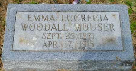 MOUSER, EMMA LUCRECIA - Hempstead County, Arkansas | EMMA LUCRECIA MOUSER - Arkansas Gravestone Photos