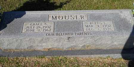MOUSER, RUFUS L - Hempstead County, Arkansas | RUFUS L MOUSER - Arkansas Gravestone Photos