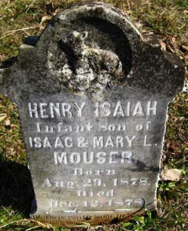 MOUSER, HENRY ISAIAH - Hempstead County, Arkansas | HENRY ISAIAH MOUSER - Arkansas Gravestone Photos