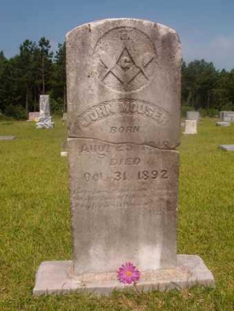 MOUSER, JOHN - Hempstead County, Arkansas | JOHN MOUSER - Arkansas Gravestone Photos