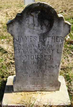 MOUSER, JAMES LUTHER - Hempstead County, Arkansas | JAMES LUTHER MOUSER - Arkansas Gravestone Photos