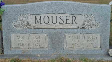 MOUSER, SIDNEY ISAAC - Hempstead County, Arkansas   SIDNEY ISAAC MOUSER - Arkansas Gravestone Photos