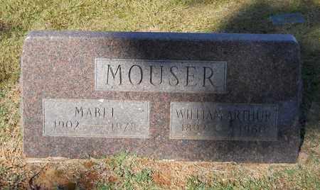 MOUSER, WILLIAM ARTHUR - Hempstead County, Arkansas | WILLIAM ARTHUR MOUSER - Arkansas Gravestone Photos